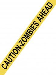 Zombies ahead! -varoitusnauha