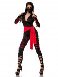 Kuuma Ninja -naamiaisasu aikuiselle