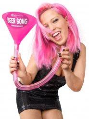 Pinkki Headrush Beer bong ® Kaljasuppilo ja letku
