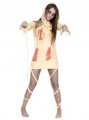 Verinen Muumio -naamiaisasu Halloweeniin