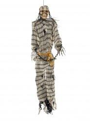 Luuranko vankiasussa - Halloween koriste