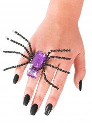 Violetti hämähäkkisormus