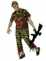 Zombisotilas - Halloween asu aikuisille