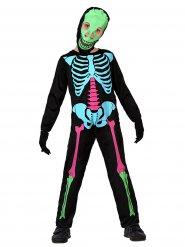 Värikäs luuranko - Halloweenasu lapsille
