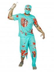 Doctor zombie - aikuisten Halloween asu
