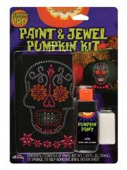 Strassitarrat ja maali kurpitsalle halloween