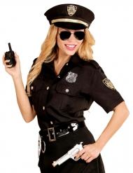 Poliisin musta naamiaisasu naiselle