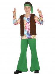 Vihreä hipin naamiaisasu lapselle