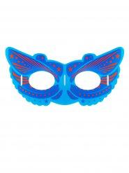 Supersankarin sininen pimeässä hohtava naamari aikuiselle