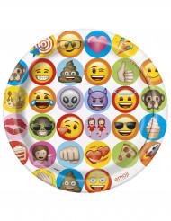 Emoji™ -paperilautaset 8 kpl