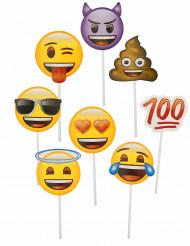 Emoji™-photoboothsetti 8 kpl