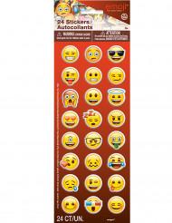 Emoji™ Hymiö -tarrat 24 kpl