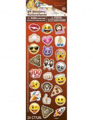Emoji™ -tarrat synttärijuhliin 24 kpl