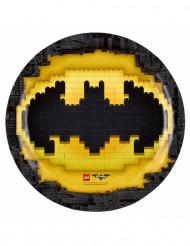 8 Lego Batman™ pahvilautasta 23 cm
