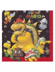 Super Mario™- servetit 20 kpl 33 x 33 cm