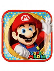 8 Super Mario™ pahvilautasta 23 cm