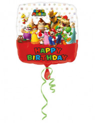 Mario Bros™ Happy Birthday - ilmapallo 43 cm
