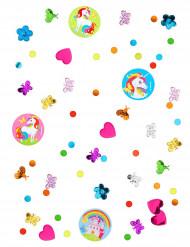 Monivärinen konfetti yksisarvisilla 34g