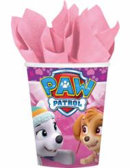 Kahdeksan vaaleanpunaista RyhmäHau™ -paperimukia