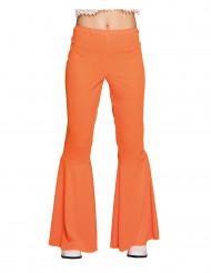 Oranssit discohousut naiselle