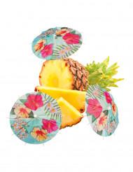 Hawaii Party - cocktail-sateenvarjot 18 cm 6 kpl