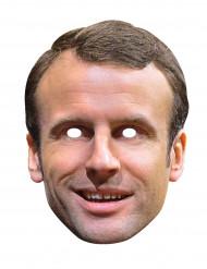 Emmanuel Macron-kartonkinaamio