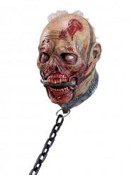 Kahlitun zombin naamio aikuiselle