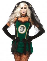 Frankensteinin morsian - Halloween asu aikuisille