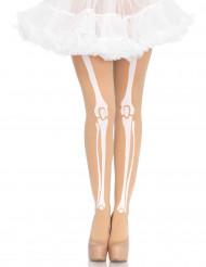 Ihonväriset sukkahousut naiselle