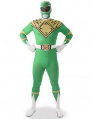 Vihreä Power Rangers™ -kokovartaloasu aikuisille