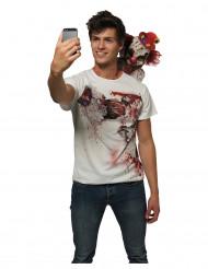 Selfieklovni - Halloween T-paita aikuisille