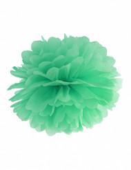 Ripustettava pompon-koriste (mintunvihreä)