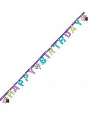 Frozen™ -syntymäpäiväbanneri violetti