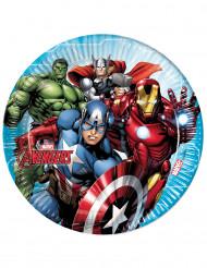Kahdeksan Avengers™-paperilautasta 23cm
