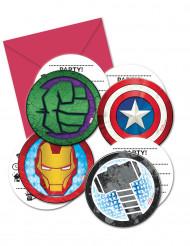 Avengers Mighty™ -kutsukortit 6 kpl