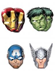 Avengers Mighty™ -kartonkinaamiot 6 kpl