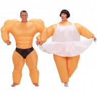 Kehonrakentaja ja Ballerina - Pariasu aikuisille