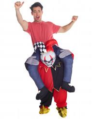 Ratsasta kauhunarrin selässä - aikuisten Carry Me -asu