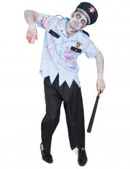 Zombiepoliisi - aikuisten naamiaisasu