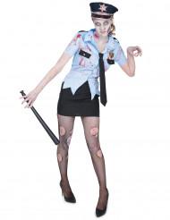 Konstaapeli Zombie - aikuisten naamiaisasu