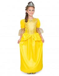 Lasten keltainen prinsessamekko