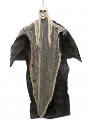 Mustavalkoinen kuolema Halloween-koriste