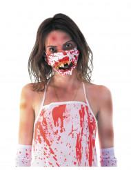 Zombin verinen suu- naamari aikuiselle halloween