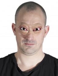 Lateksinen ulkonevat silmät- naamari aikuiselle halloween