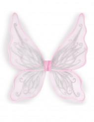 Perhosen siivet -vaaleanpunaiset