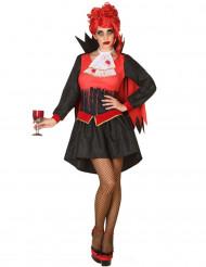 Verenhimoinen vampyyri - Halloween asu aikuisille