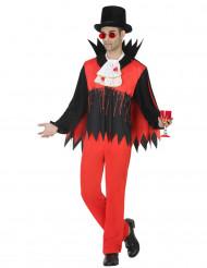 Vertavaluva vampyyri - Halloween asu aikuisille