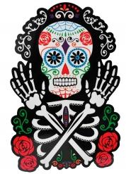 Luuranko Dia de los muertos seinäkoriste