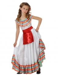 Meksikolainen naamiaisasu tytölle