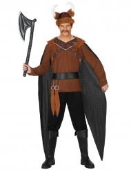 Viikinkijohtajan naamiaisasu miehelle